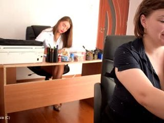 alessia__ webcam show in office with debauchery cam babe