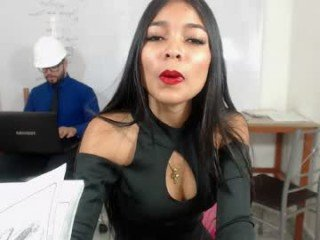 holy_sin office cam girl takes out her favorite sex toys online