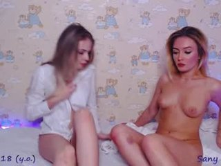 sanymorgan teen cam babe enjoys hard live sex and squirts online