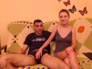 denisaela european couple having hot and sensuous live sex