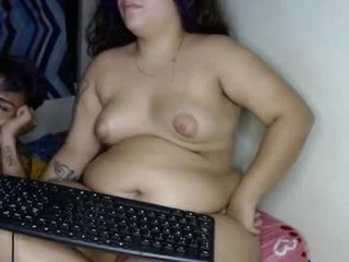 kingmax24 fat spanish cam babe enjoys dirty live sex with her sex tutor